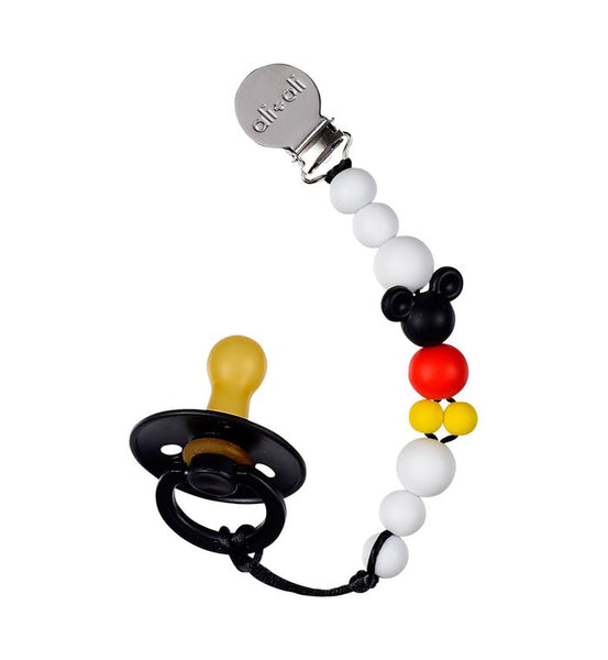 Ali+Oli Modern Pacifier Clip  - BPA Free Silicone Beads