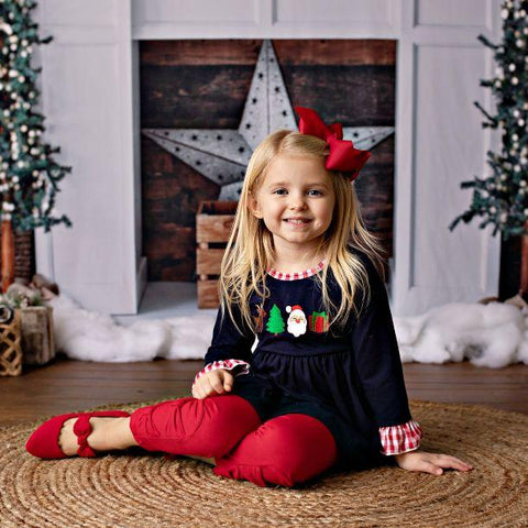 Letters to Santa Tunic Set
