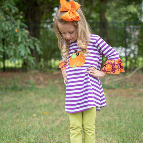 Plumkin Pickin' Tunic Pant Set - Orange Poppy Boutique