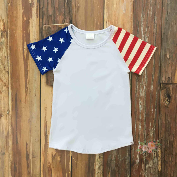 All American Shirt - Orange Poppy Boutique