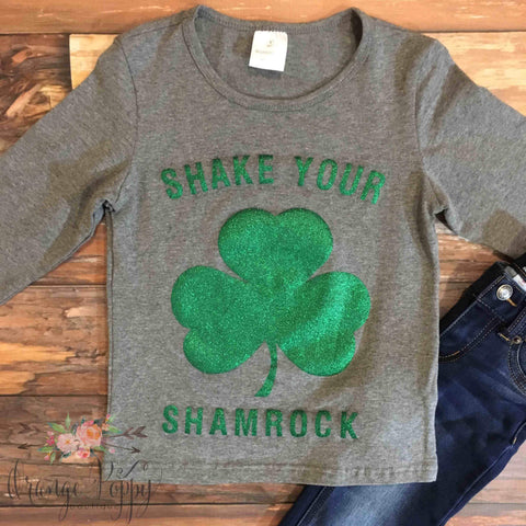 Shake Your Shamrock Tee - Orange Poppy Boutique