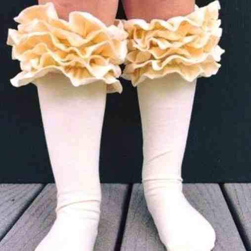 Icing Boot Socks - Orange Poppy Boutique
