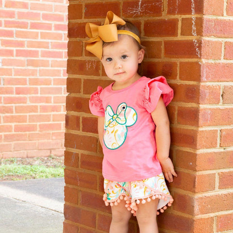 Sunshine and Magic Short Set - Orange Poppy Boutique