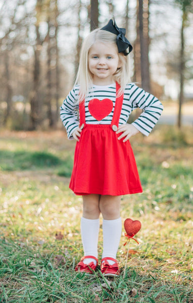 Sweetheart Jumper - Orange Poppy Boutique