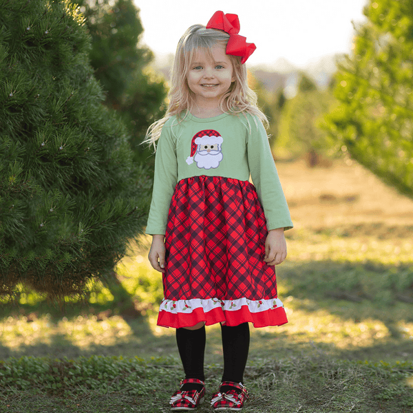Very Merry Christmas Dress - Orange Poppy Boutique