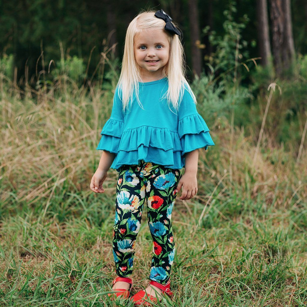 Watercolor Whirlwind Pant Set