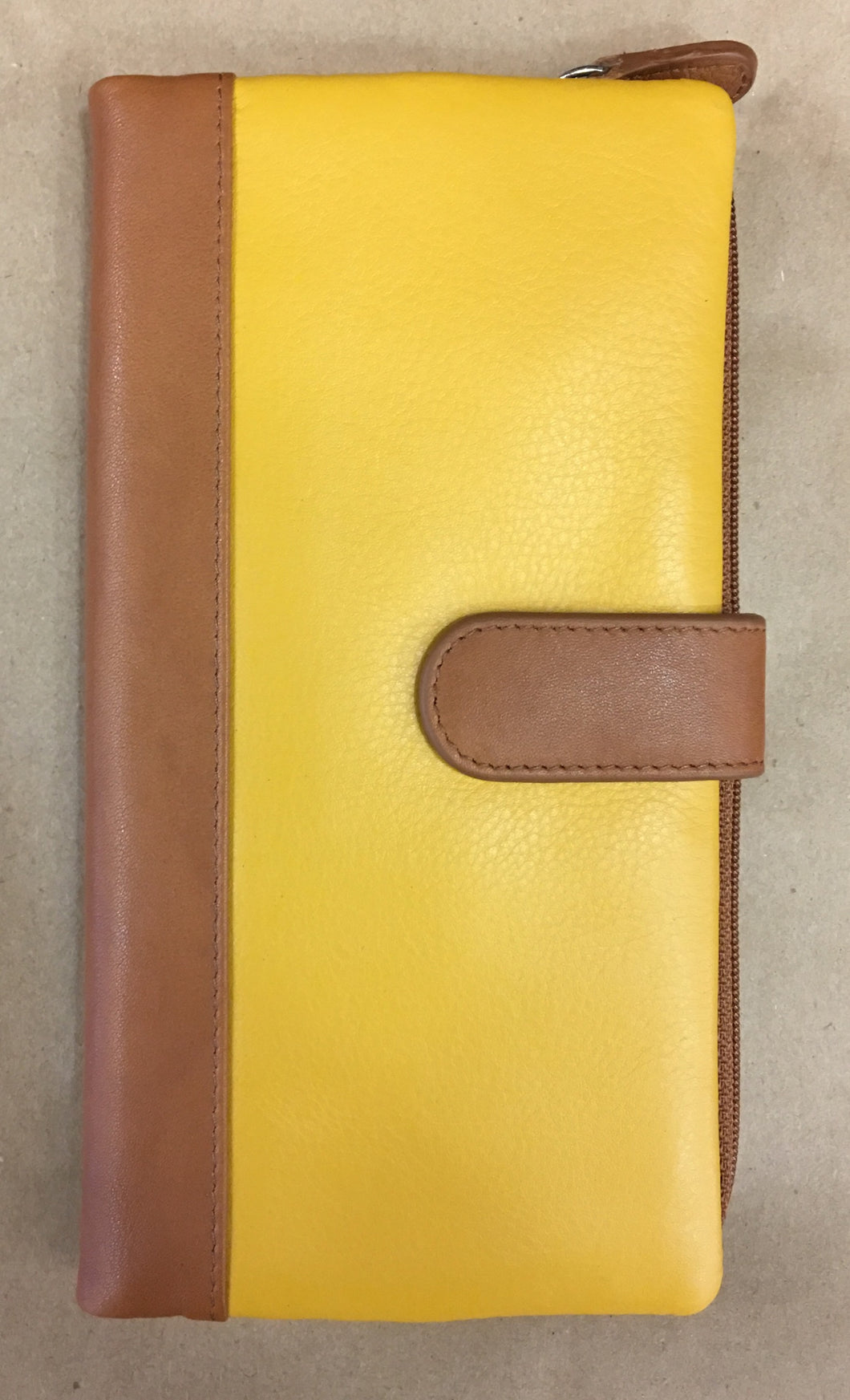 slim cell long wallet