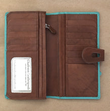 large cut out wallet