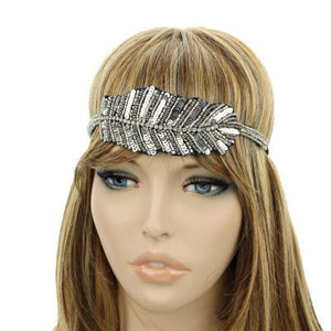 Fashion Seed Bead Headband - The Blue Attic