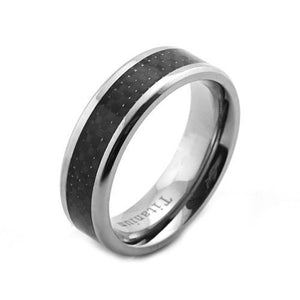 Men's Titanium Ring - The Blue Attic