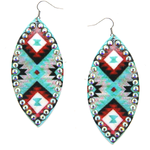 Treasure Aztec Drop Earrings