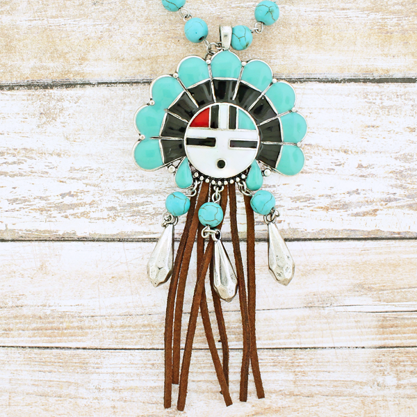Oori Tribal Bead Necklace - The Blue Attic
