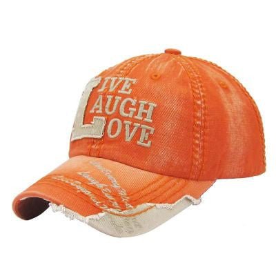 Live, Laugh, Love Baseball Cap - The Blue Attic