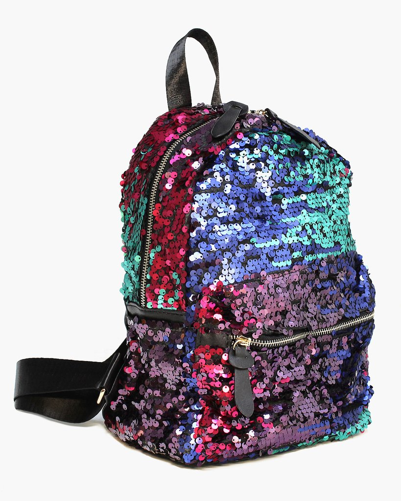 Sequins Simmering Backpack - The Blue Attic