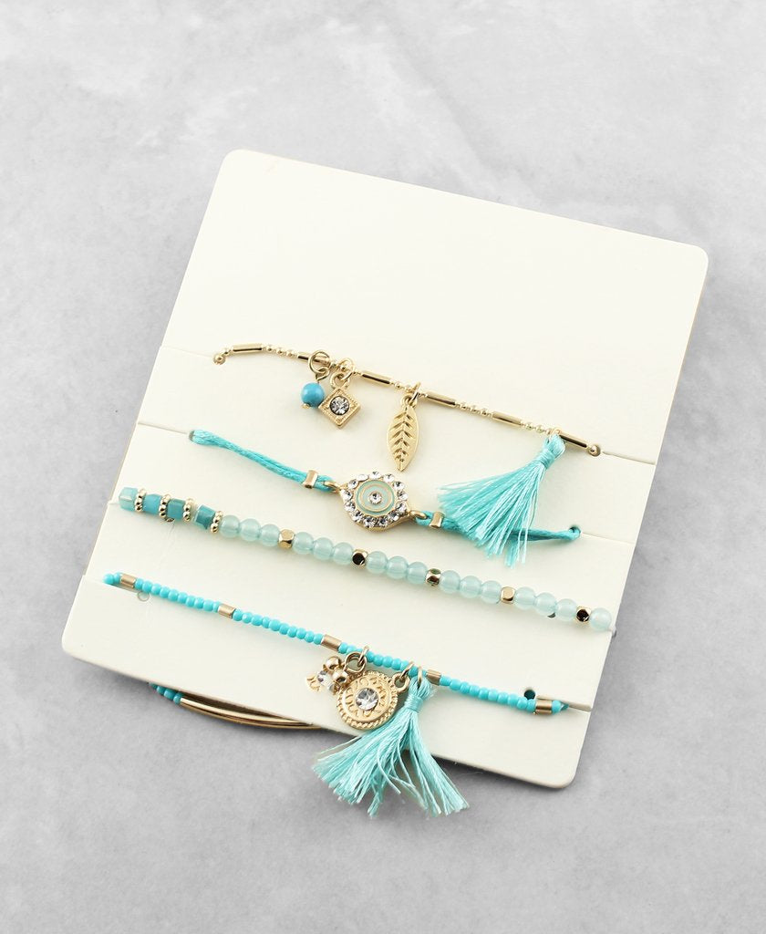 Layered Bracelet Set - The Blue Attic