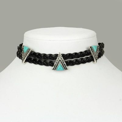 Bohemian Triangle Choker - The Blue Attic