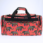 Boho Elephant Travel Duffle Bag - The Blue Attic