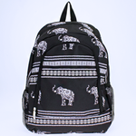 Boho Tribal Elephant Backpack - The Blue Attic
