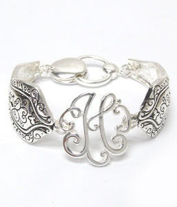 Initial Monogram Magnetic Bracelet - The Blue Attic
