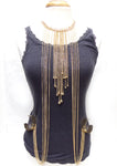 Body Chain With Cuff Bracelet - The Blue Attic