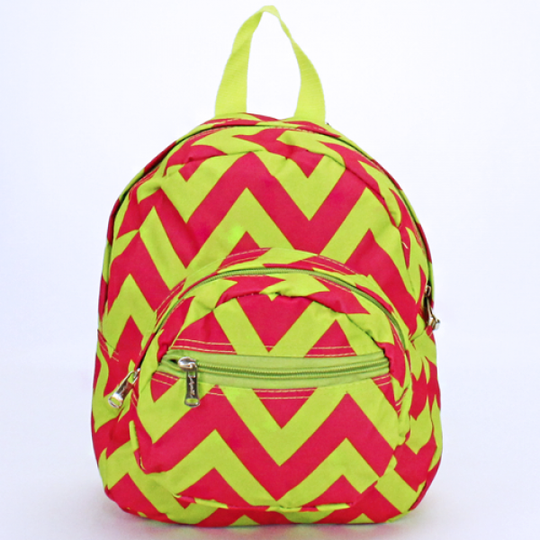 Mini Chevron Backpack - The Blue Attic