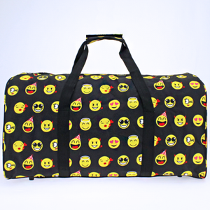 Large Emoji Duffle Bag - The Blue Attic