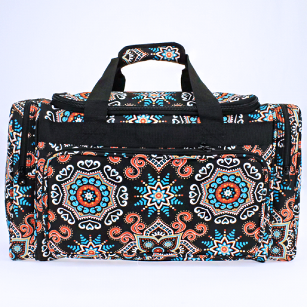 Boho Starburst Duffle Bag - The Blue Attic