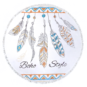 """Boho Style"" Beach Towel - The Blue Attic"