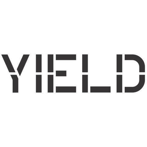 Yield Sign Stencil