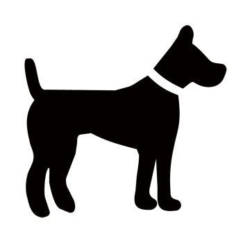 Dog Recreational Guide Symbols