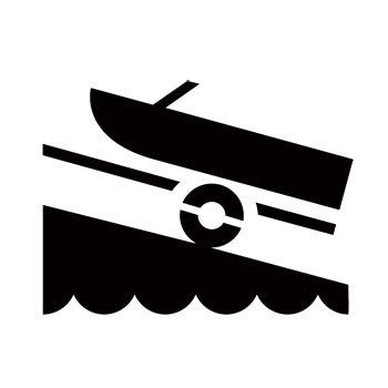 Boat Launch Ramp Recreational Guide Symbols
