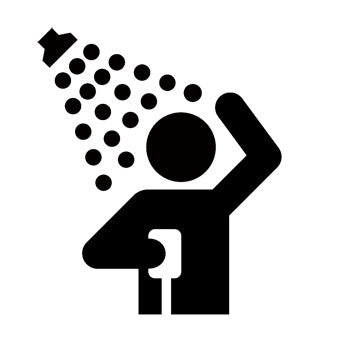Showers Recreational Guide Symbols