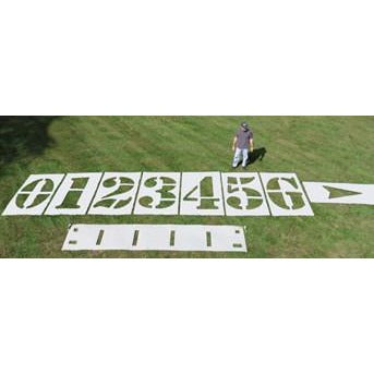 Athletic Field Stencil Kit