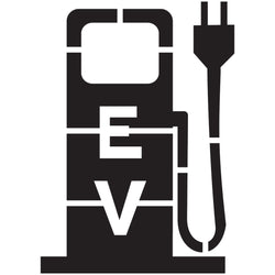 Electric Vehicle Charging Station Pump Stencil