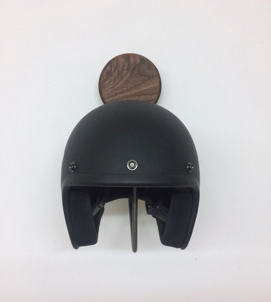 Support à casque de moto
