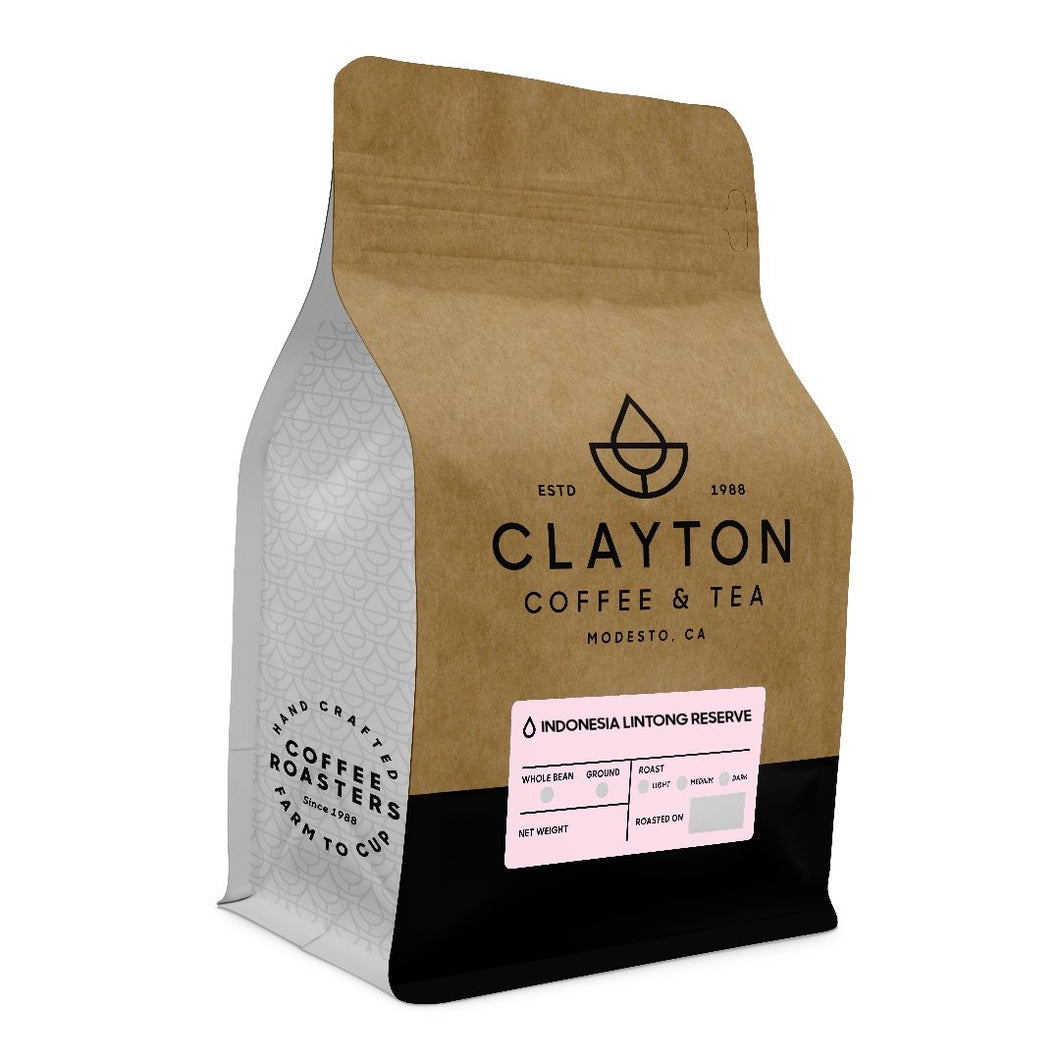 Indonesia Lintong Reserve - Clayton Coffee & Tea