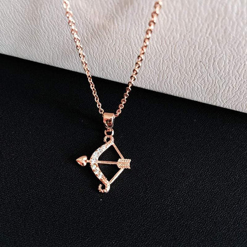 Luxury Bow and Arrow Pendant Necklace - Surpriceme.com