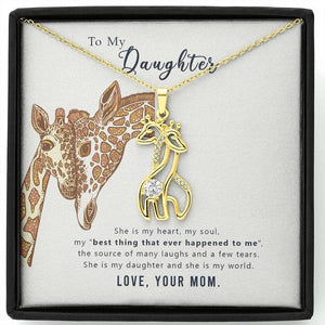 Surpriceme.com Jewelry For Daughter - She Is My Heart Necklace