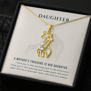 Surpriceme.com Jewelry for Daughter - A Mother's Treasure Is Her Daughter Necklace
