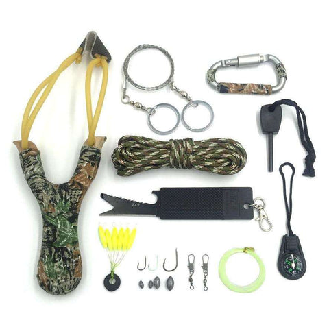 12 in 1 Outdoor Survival Kit - Surpriceme.com