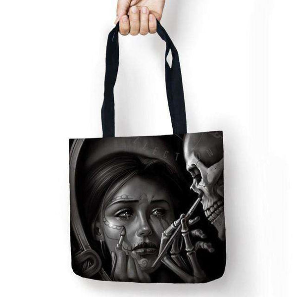 Calavera Girls Tattoo Tote Bag - Surpriceme.com