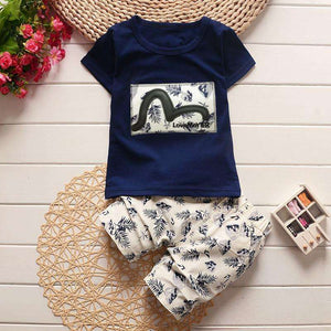 Boys Premium Cotton T-Shirt & Shorts Set - Surpriceme.com