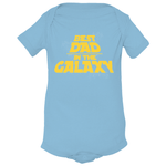 Baby Best Dad In The Galaxy Onesies - Surpriceme.com