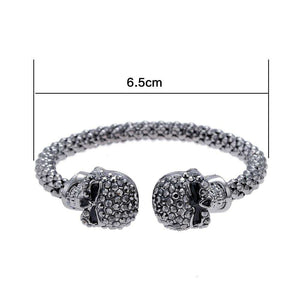 Luxury Crystal Skull Bangle - Surpriceme.com
