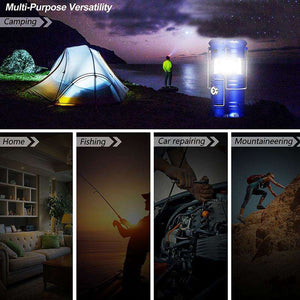 Solar LED Lantern Flashlight - Surpriceme.com