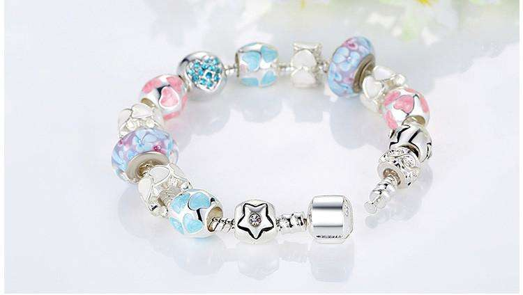 "Surpriceme.com - ""LOVE"" Crystals Bracelet Set - Surpriceme.com"