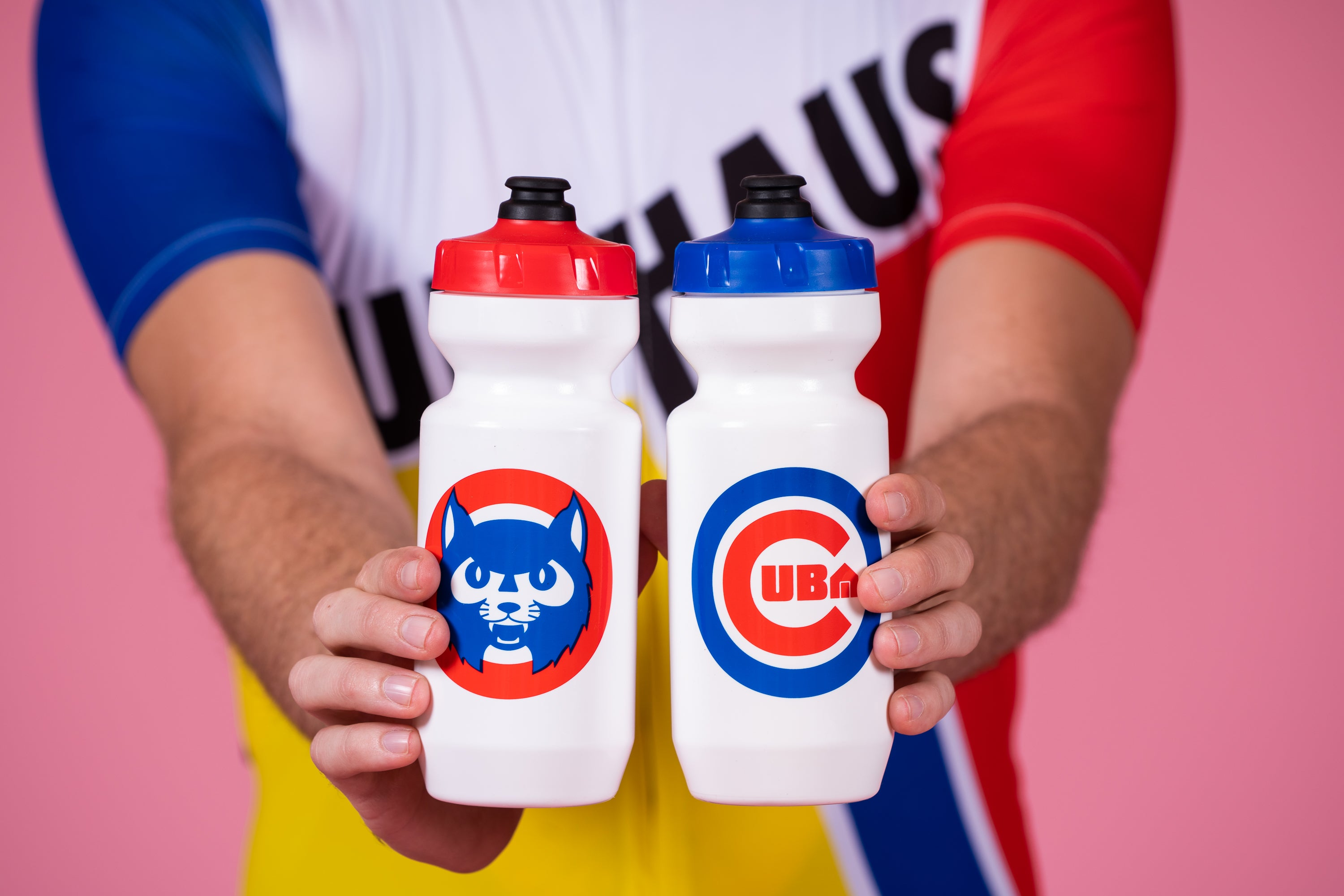 Double Sided Baseball Sucks Bottles 22oz