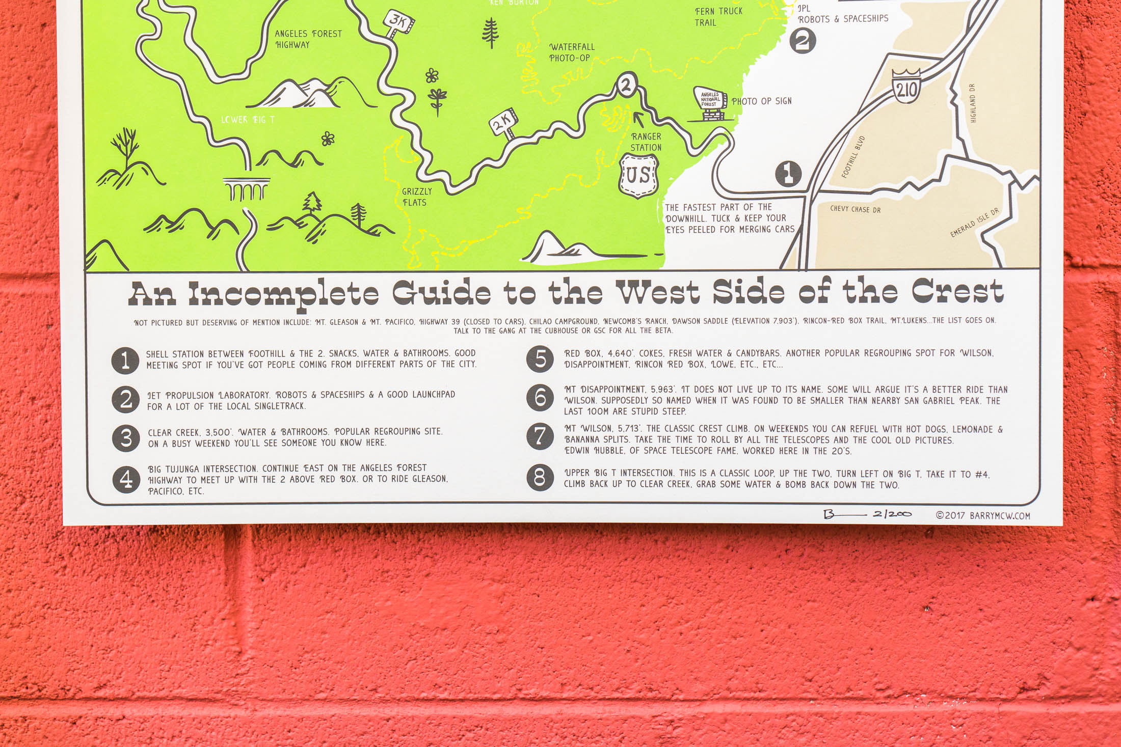 An Incomplete Guide To The West Side of The Crest