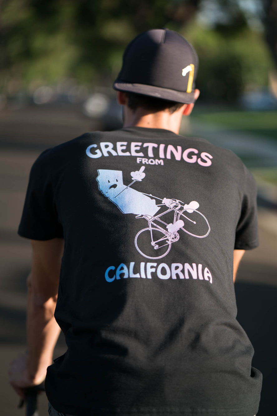 Greetings From California Pocket T