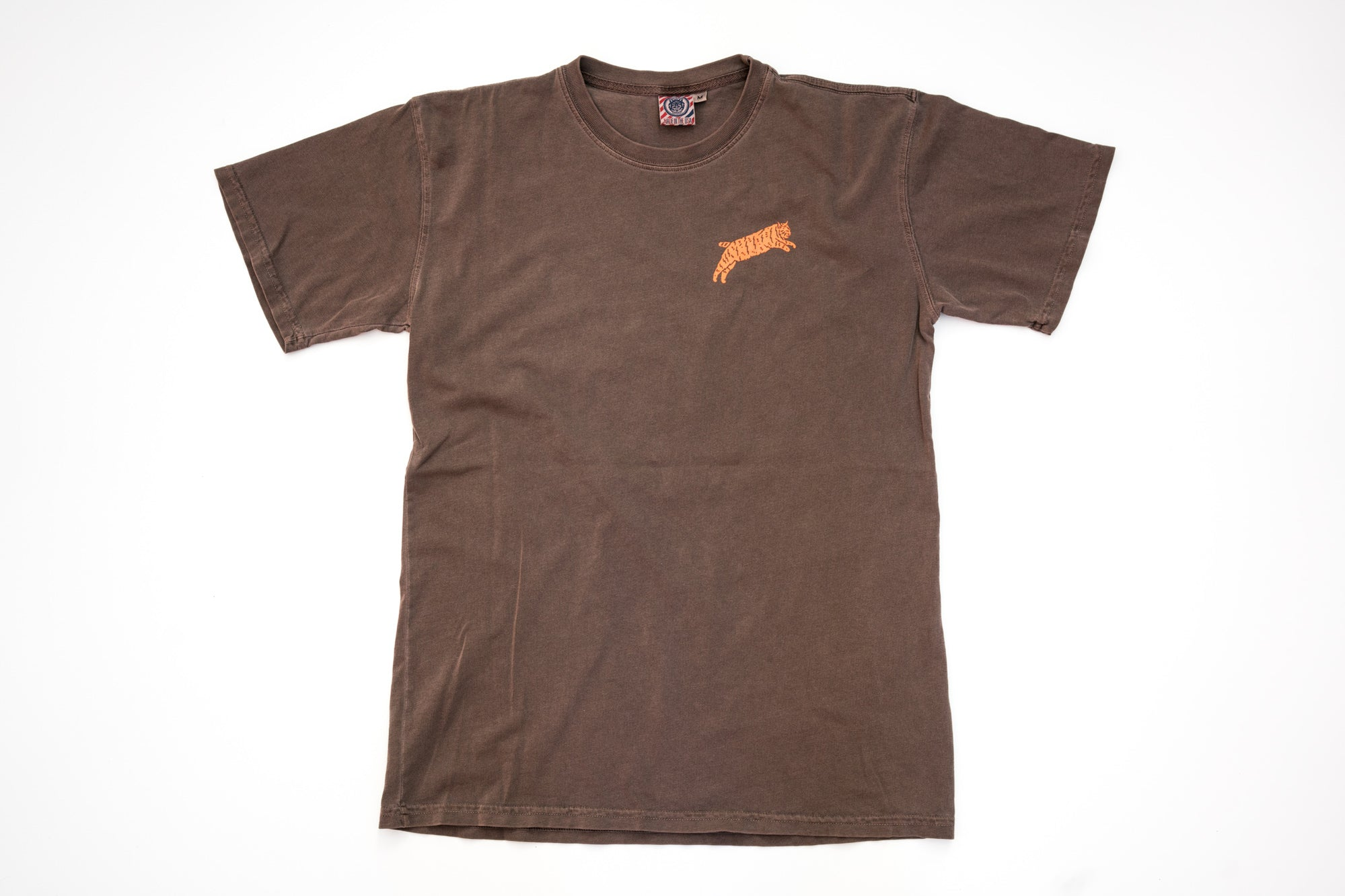 Brown Japan Chubby Bobcat Heavyweight T